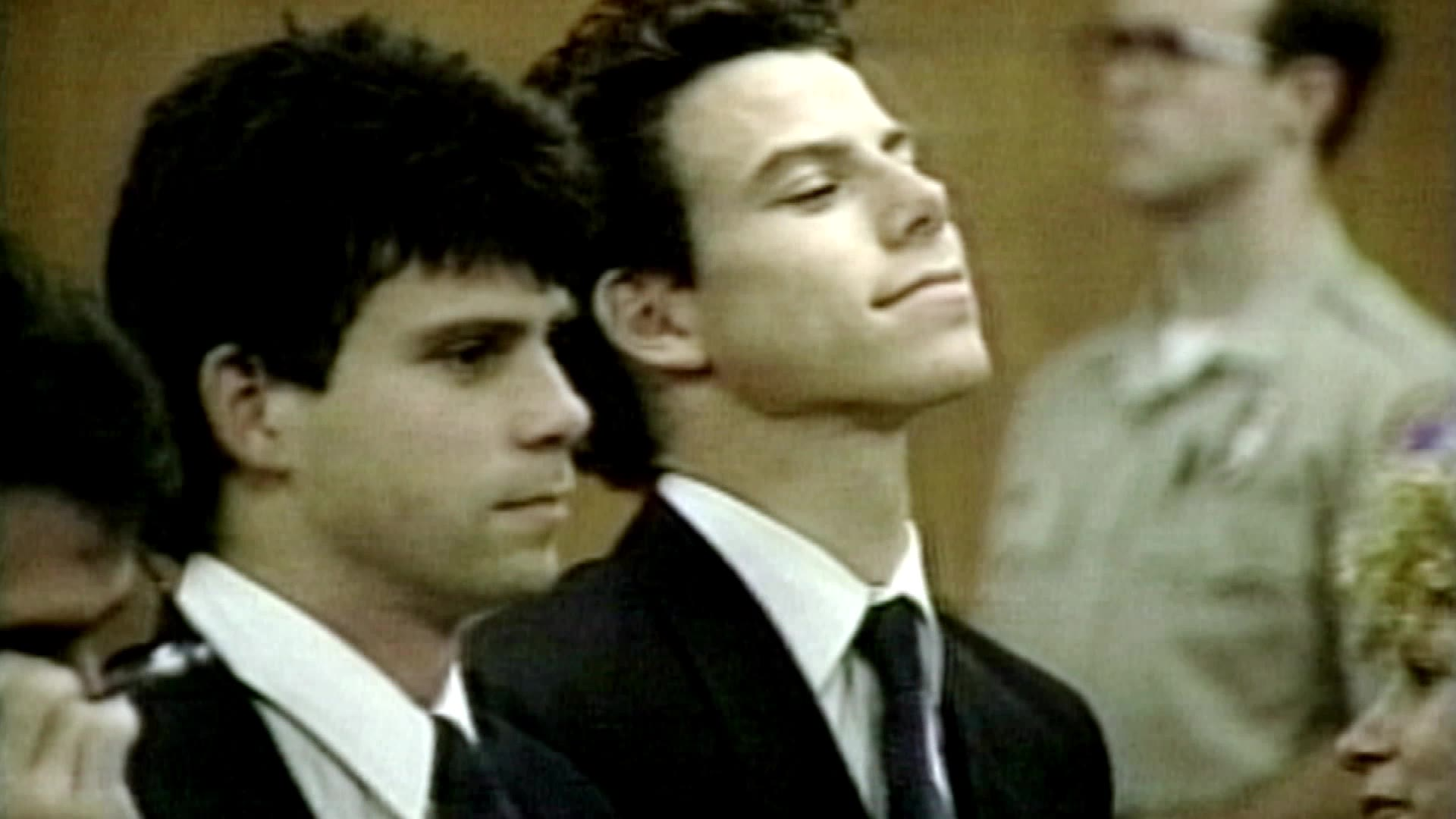 Menendez brothers scene crime photos