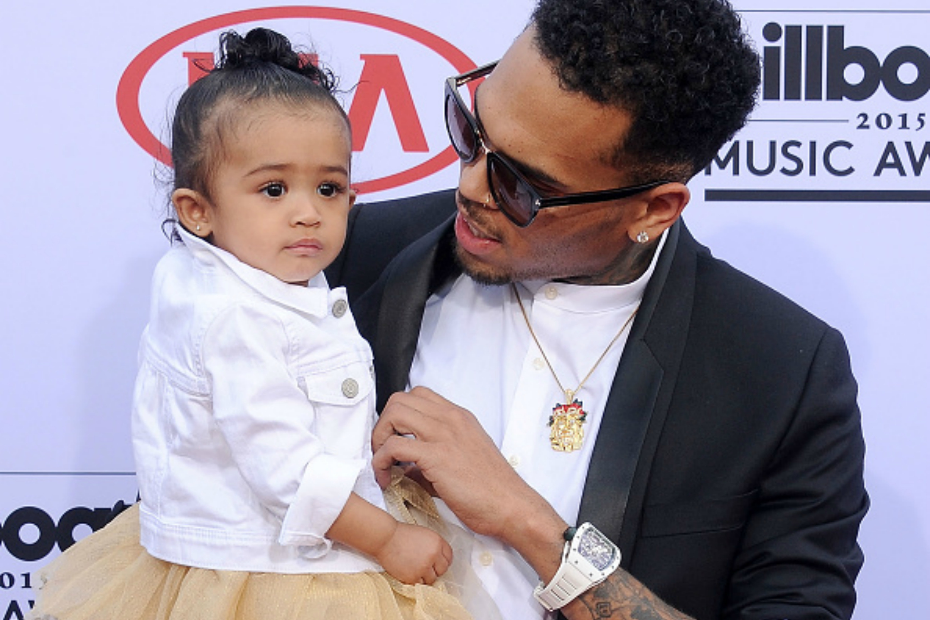 """Chris Brown Blasts Baby Mama, Tells Her To Act """"Her Age ..."""