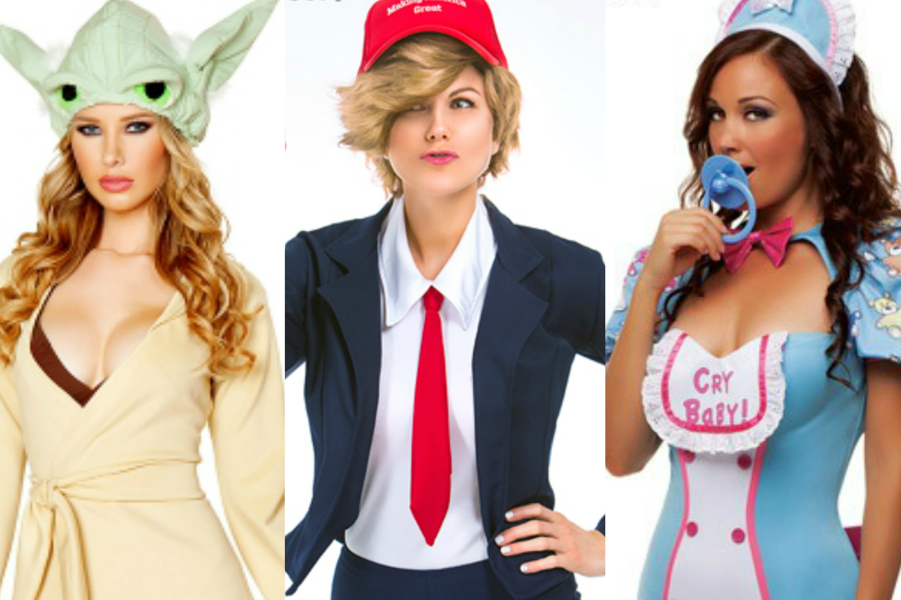 """17 of the most ridiculous """"sexy"""" halloween costumes 