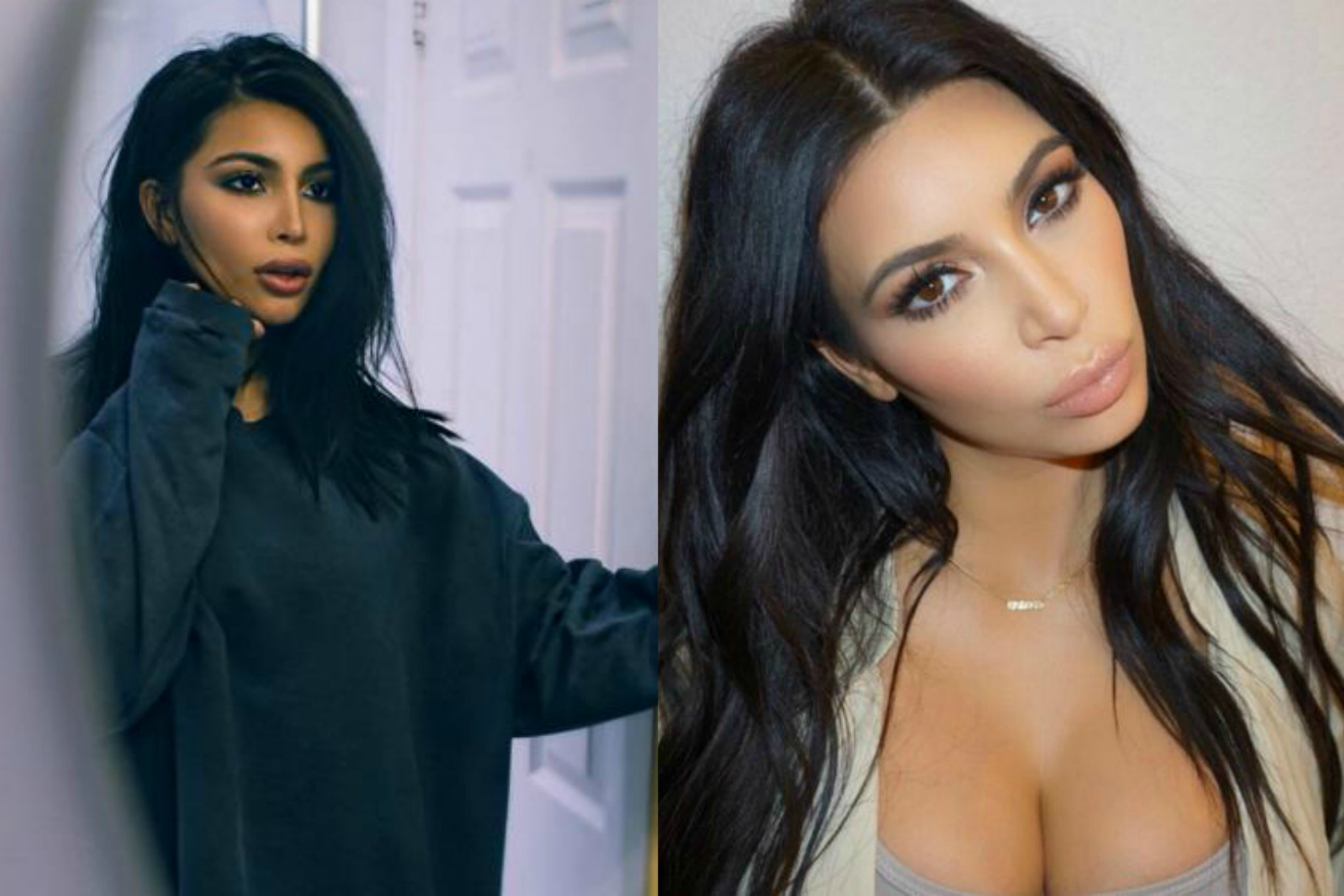 Is This Fashion Blogger Kim Kardashian S Long Lost Twin Very Real