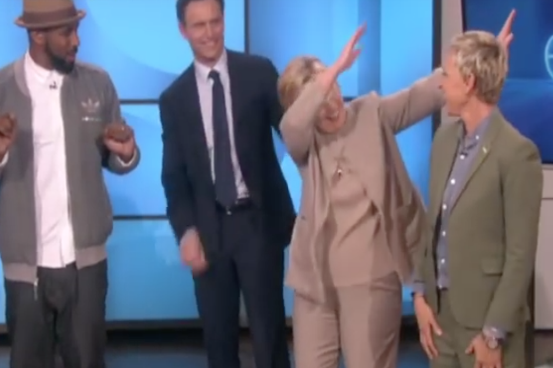 Hillary Clinton Does The Dab ... Yikes. | Very Real