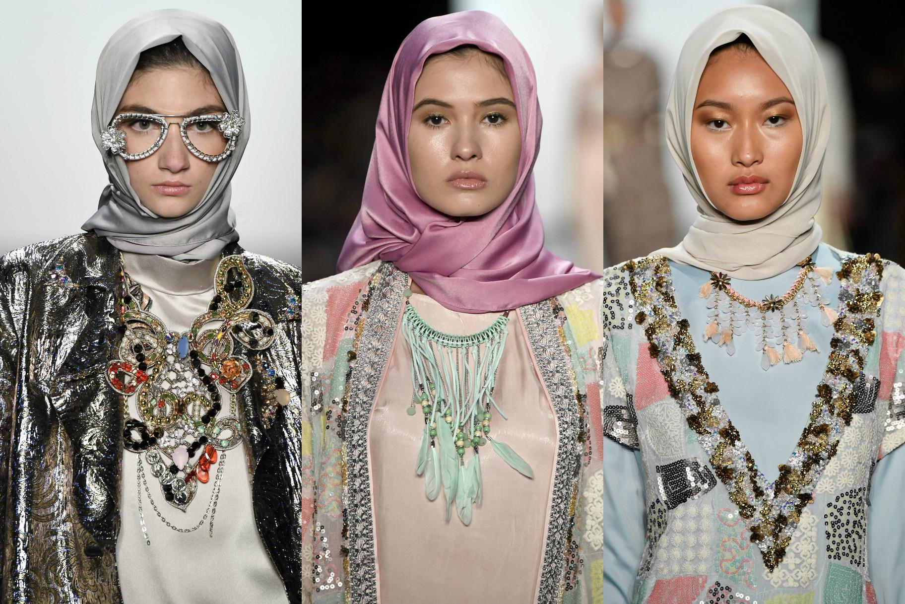 This All Hijab Runway Show Just Made Fashion Week History