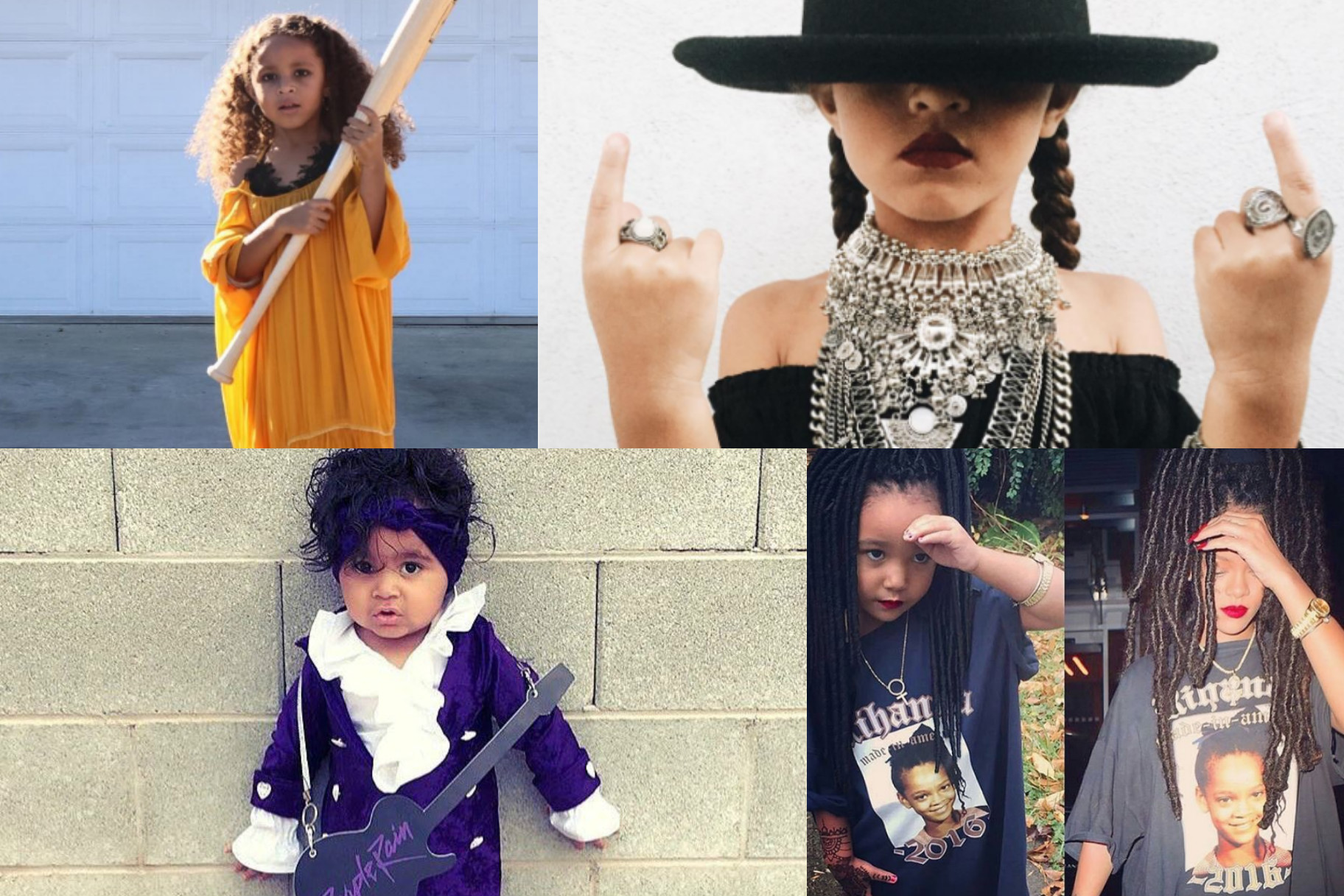 These Kids Dressed As Rihanna Beyonce And Prince Just Won Halloween | Very Real  sc 1 st  Oxygen & These Kids Dressed As Rihanna Beyonce And Prince Just Won ...