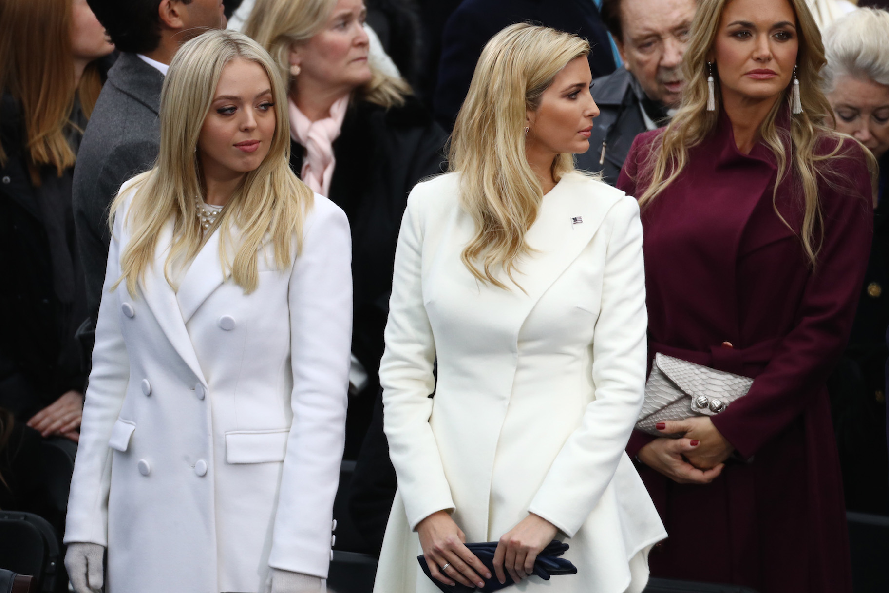 Tiffany Trump Wore Shoes From The Designer Suing Her