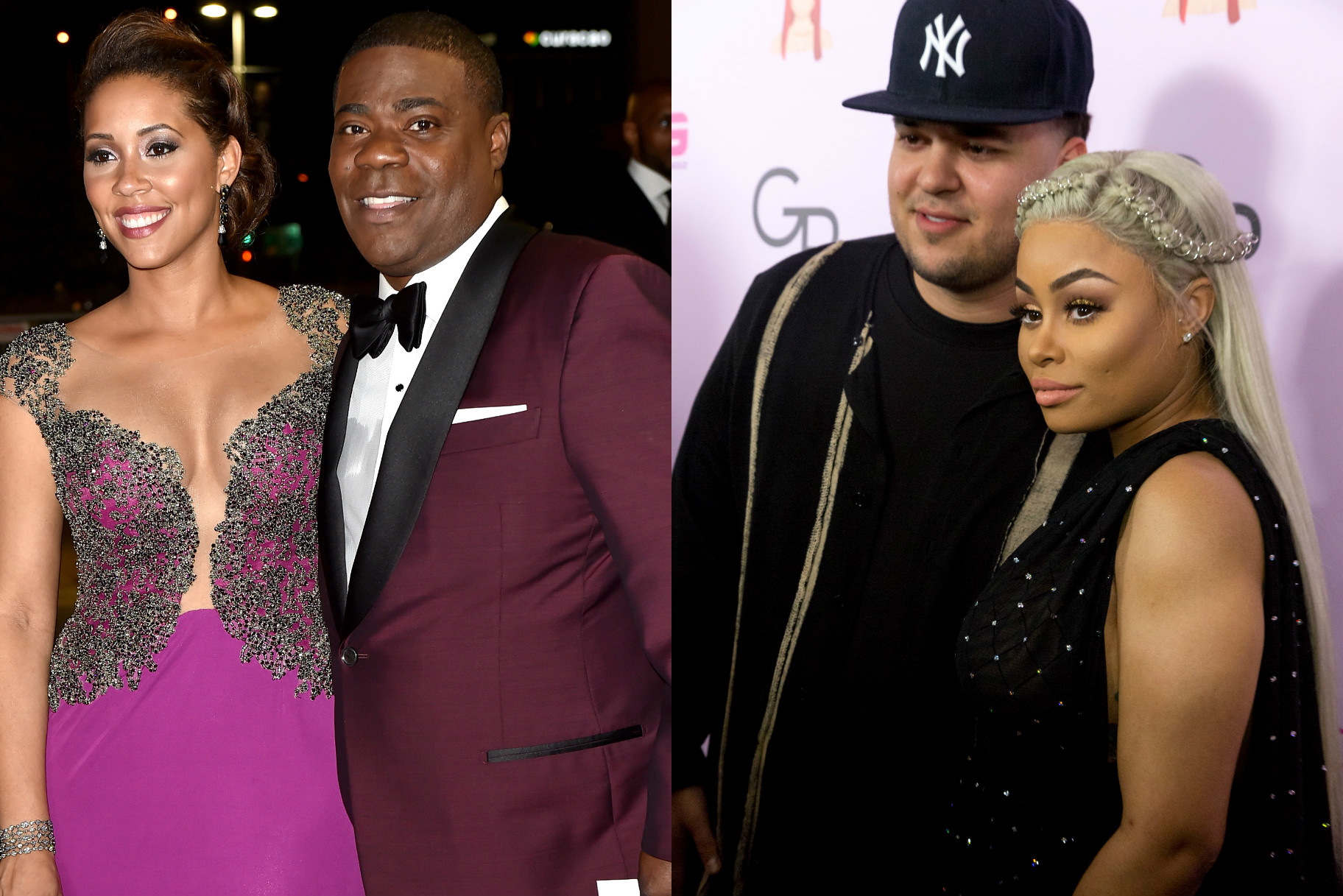 this is how tracy morgan his wife use blac chyna rob. Black Bedroom Furniture Sets. Home Design Ideas