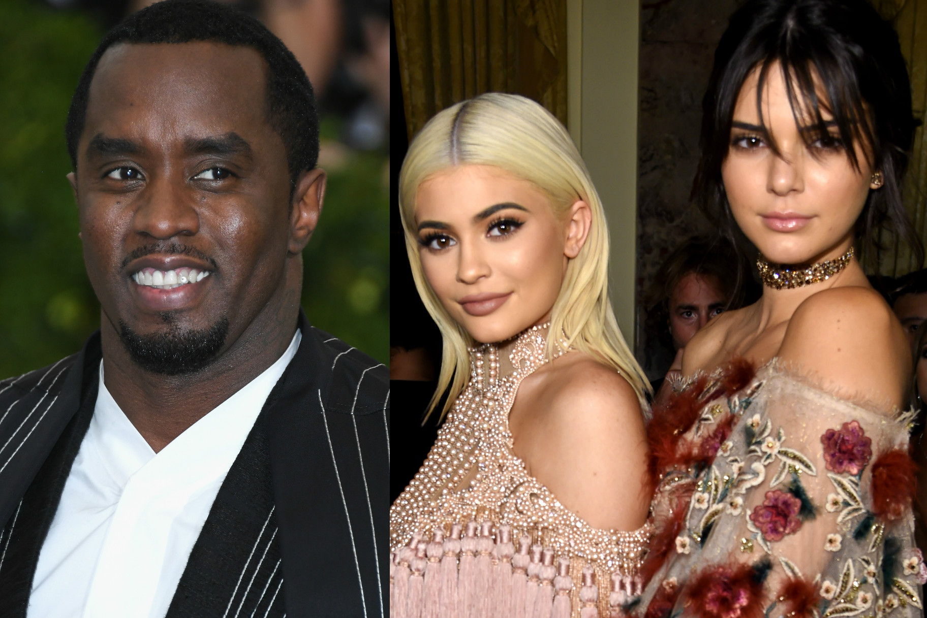 Diddy Threw The Most Epic Shade At Kendall And Kylie Jenner On Instagram