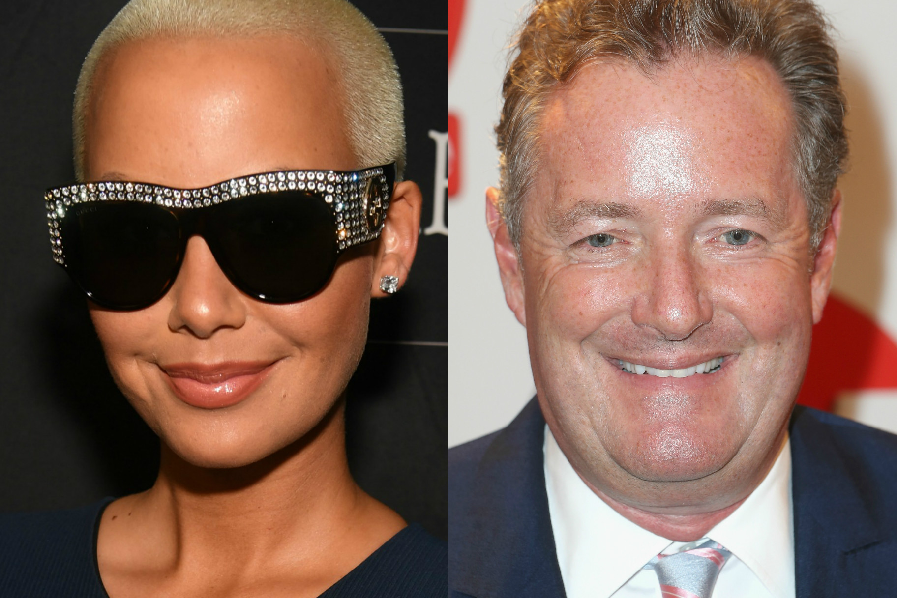 Amber rose and piers morgan had the craziest twitter fight over amber rose and piers morgan had the craziest twitter fight over ambers nsfw pic very real urmus Images