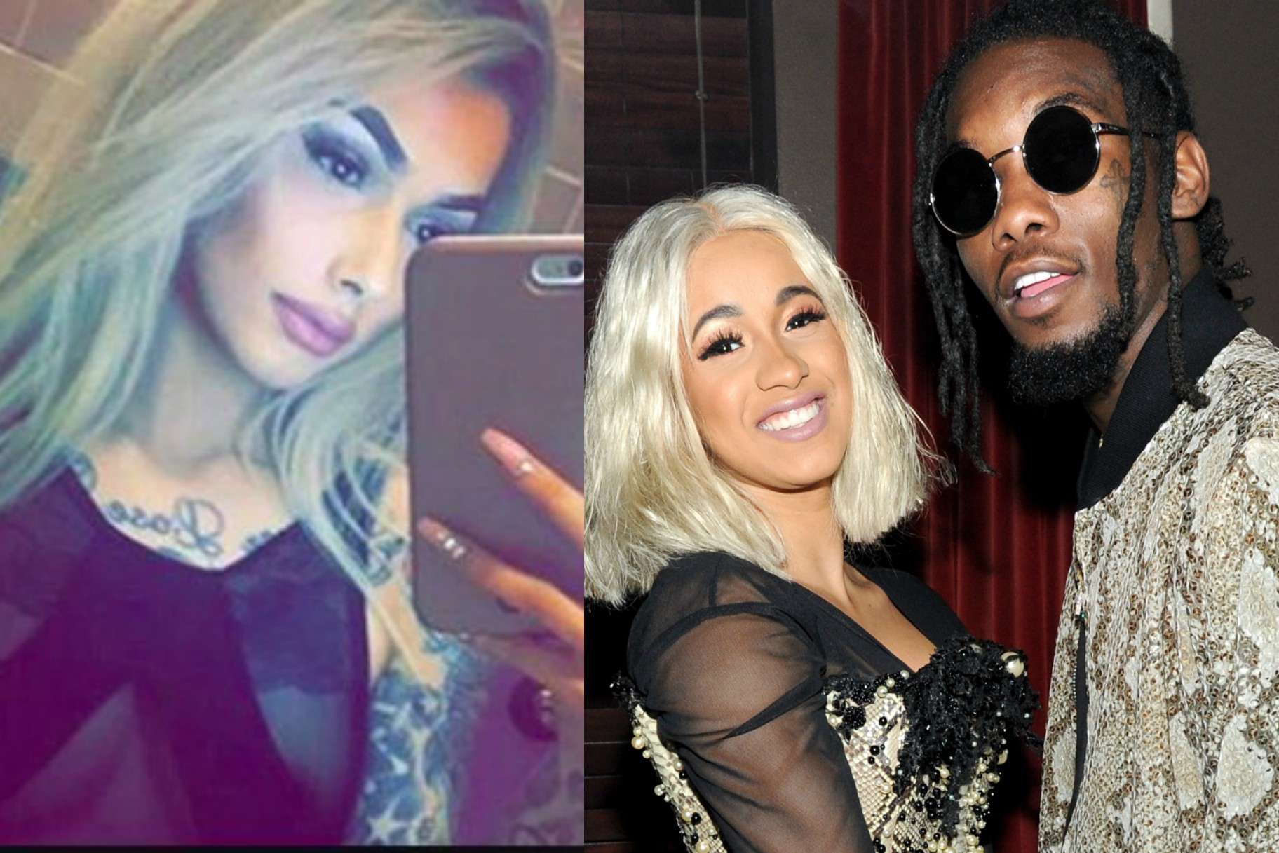 Offset S Is Still Cheating On Cardi B With Some Self: Woman Claims Cardi B's Fiancé Offset Got Her Pregnant