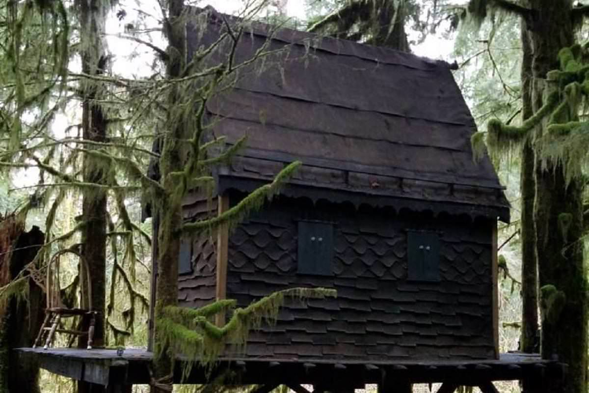 Man Sentenced After Being Caught With Child Porn-Filled 'Gingerbread House' In The Woods