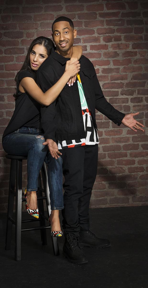 Brandon T Jackson Amp Girlfriend Denise Xavier Living