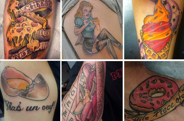 The 10 Most Delectable Food Tattoos