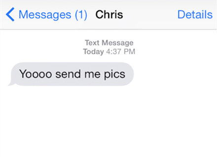 Text me for nudes