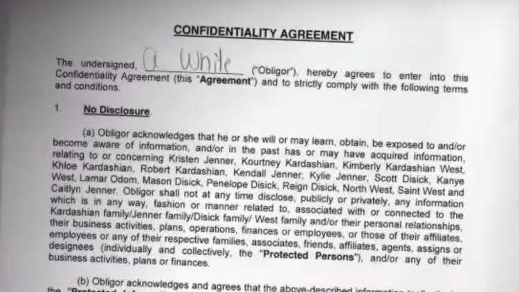 Kardashians Send Signed Copy Of Nda When Asked About Blac Chyna