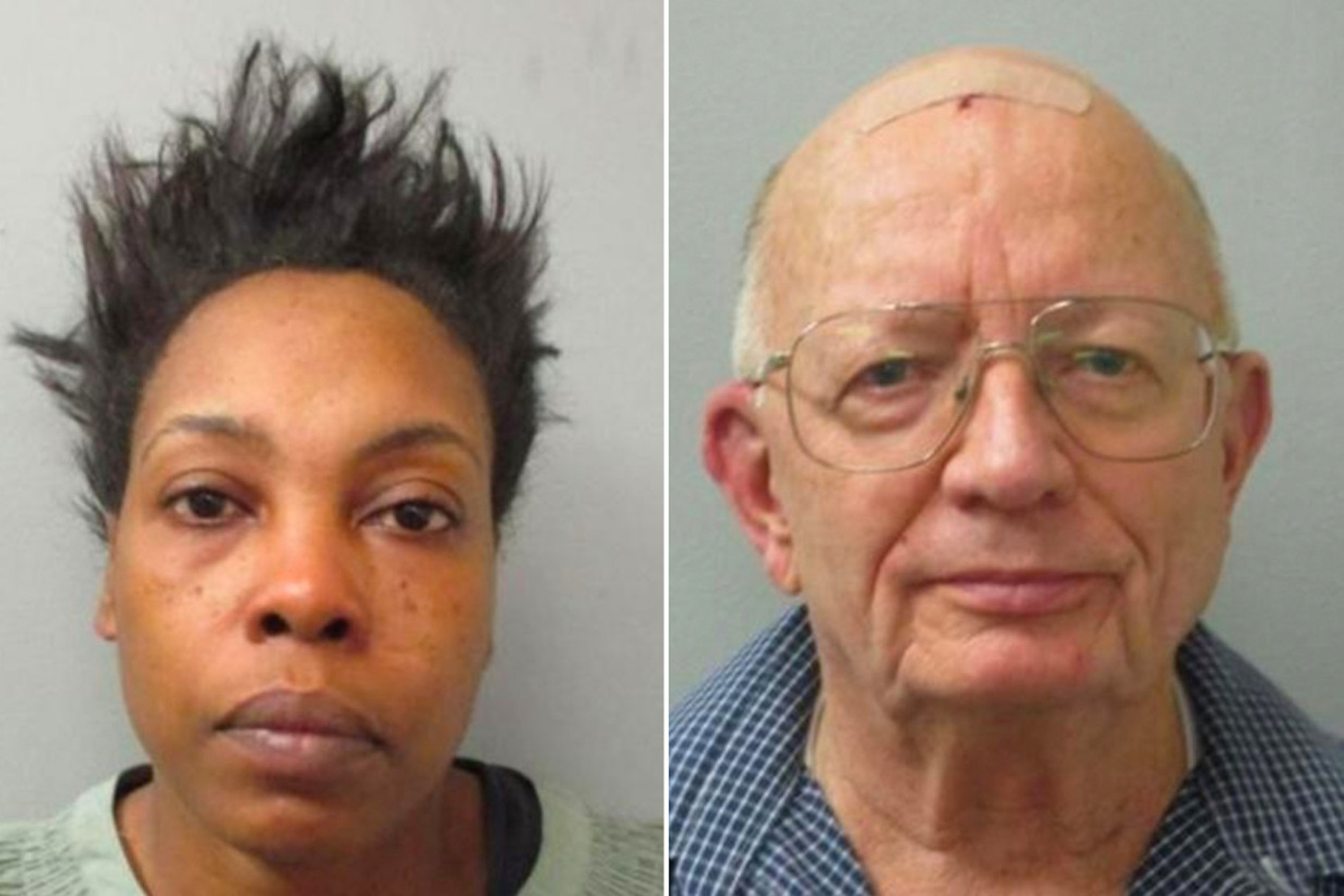 Chequita Jenkins (left) and John Chapman (right) via Huntsville Police