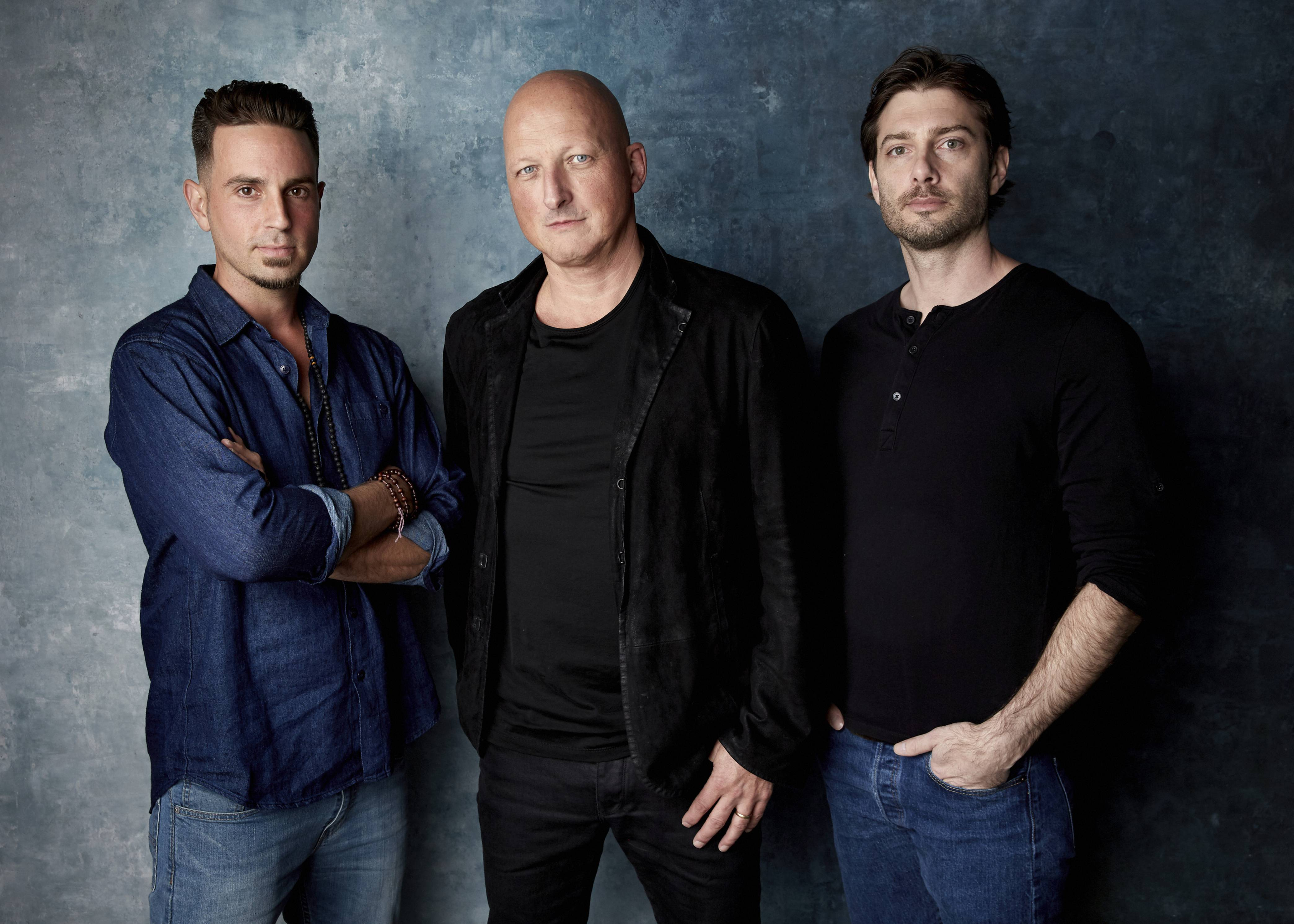 Wade Robson, Dan Reed, James Safechuck -AP