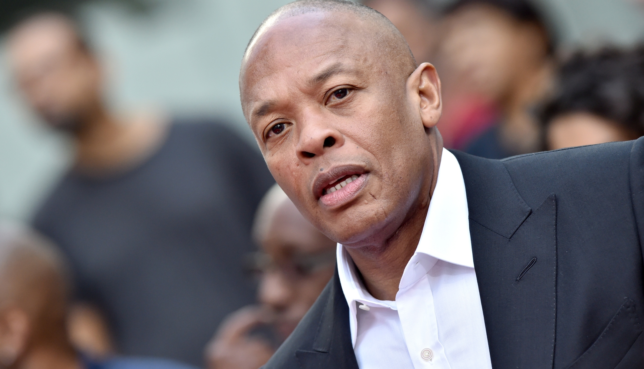 Dr. Dre pictured at the Hand and Footprint Ceremony in November 2018