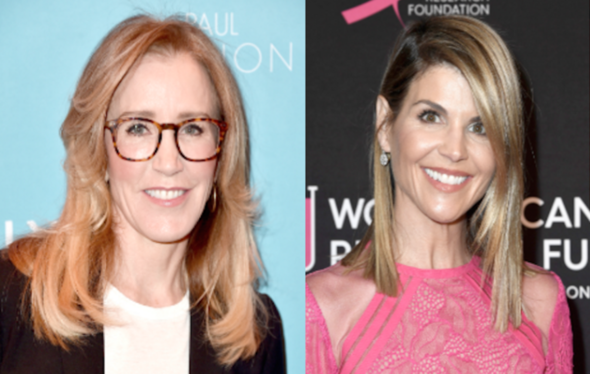 Felicity Huffman and Lori Loughlin