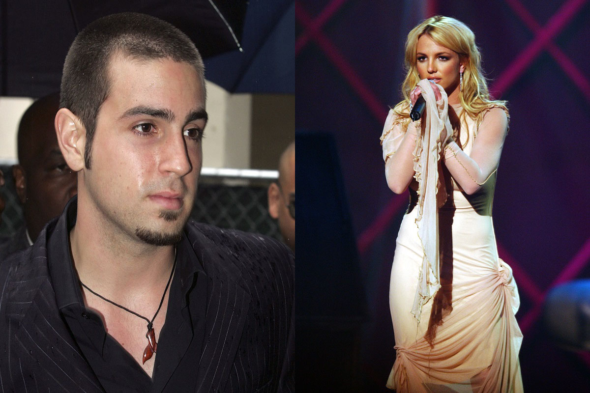 Wade Robson and Britney Spears
