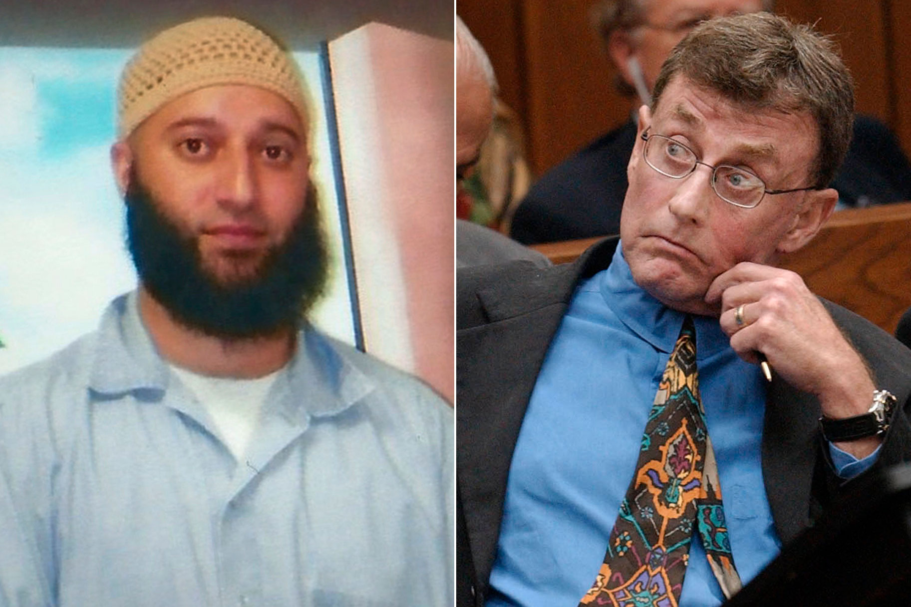 Adnan Syed and Michael Peterson