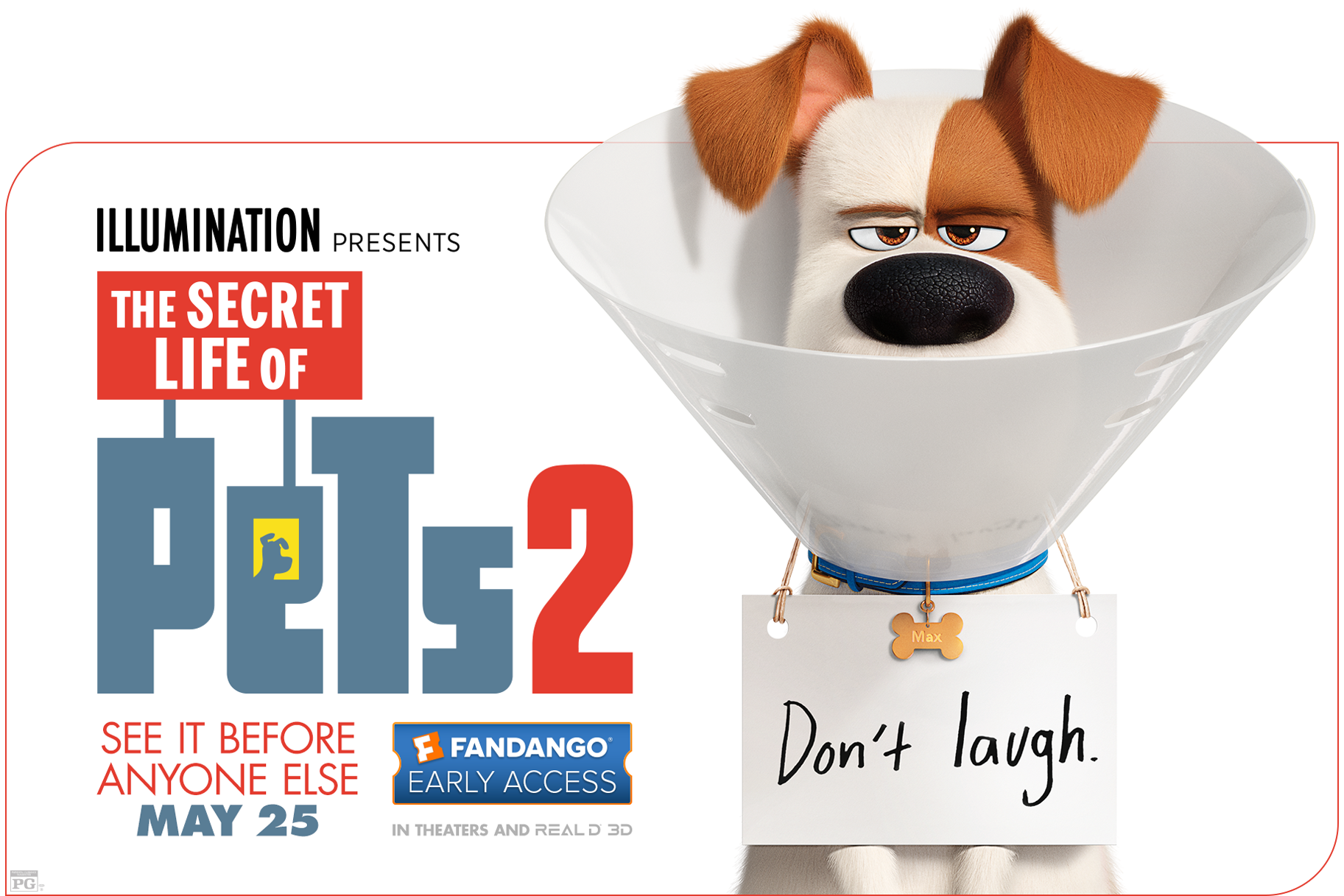 "Get tickets to ""The Secret Life of Pets 2"" now!"