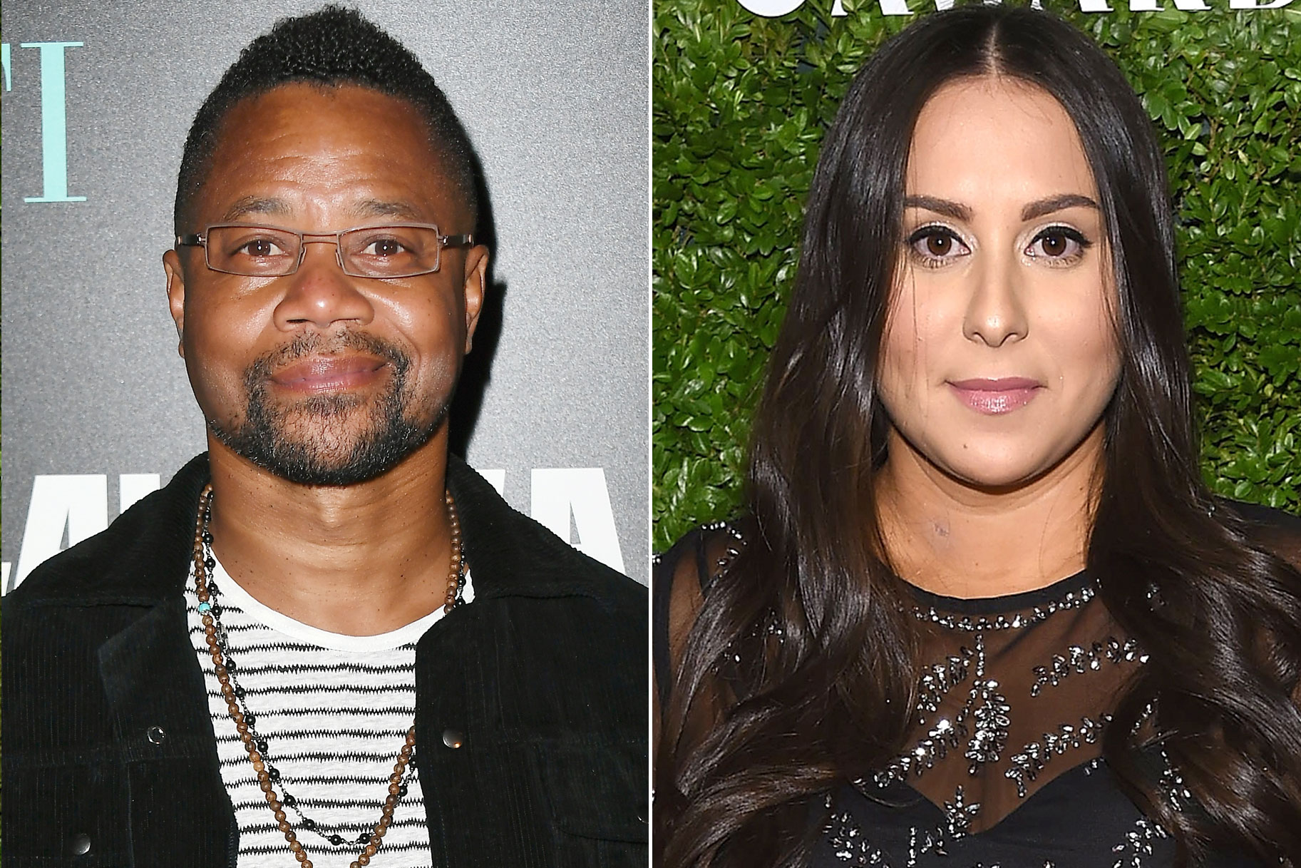 Cuba Gooding Jr. and Claudia Oshry