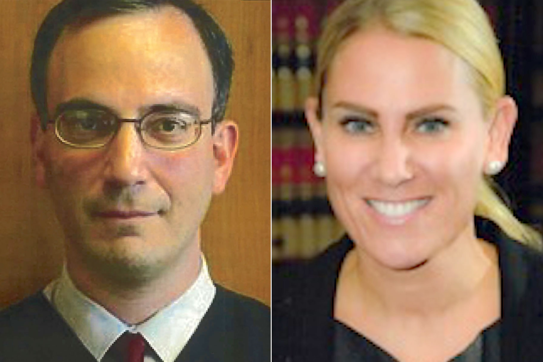 Judge Joseph Bianco and Prosecutor Lara Gatz