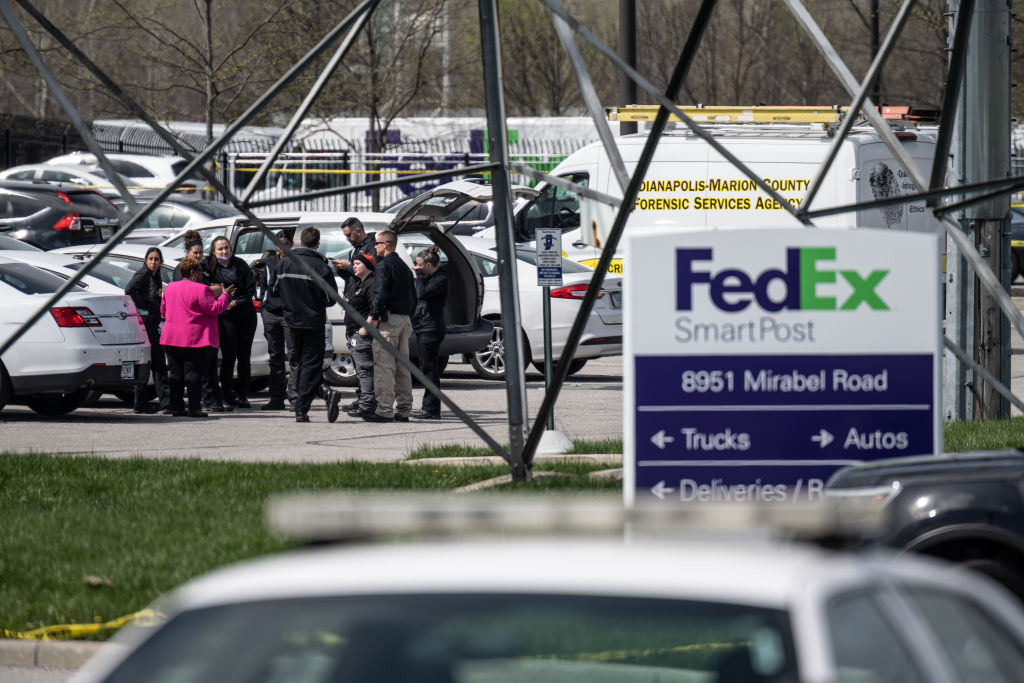Indy Fedex Shooting Getty
