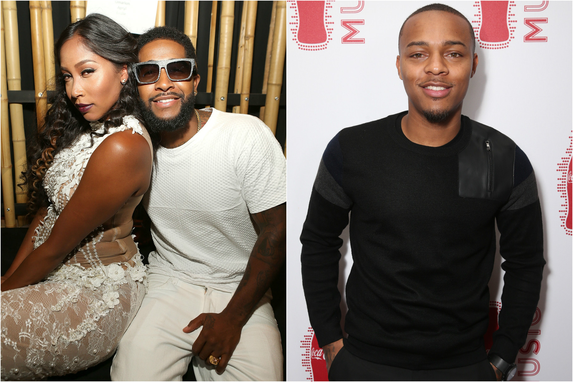 Omarion And His Longtime Girlfriend Split Bow Wow Got Super Messy