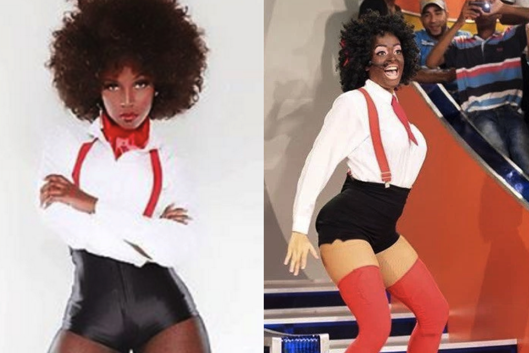 The Internet Lost It Over This Blackface Impersonation In The