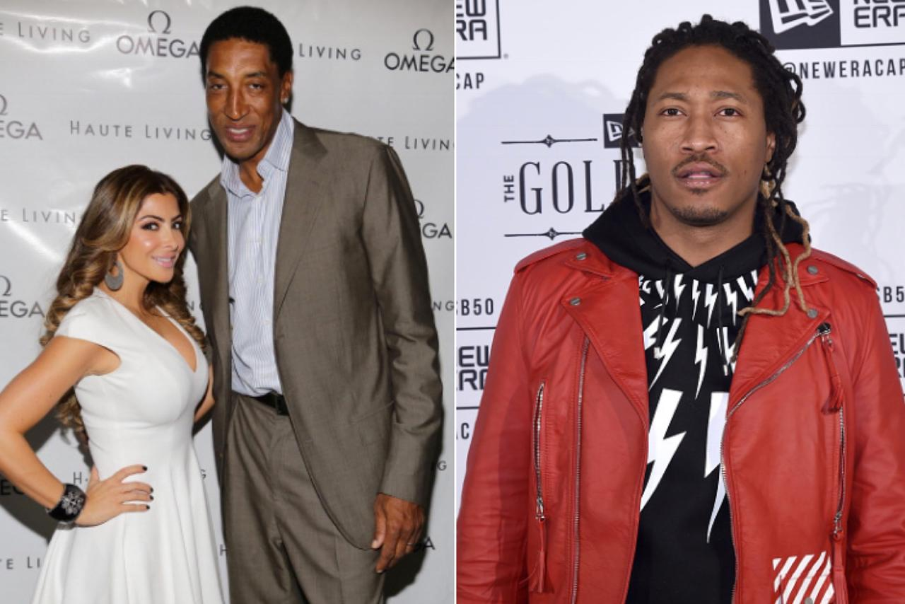 d93eb1efc4740 Future Is Taunting Scottie Pippen On Social Media After Stealing His Wife