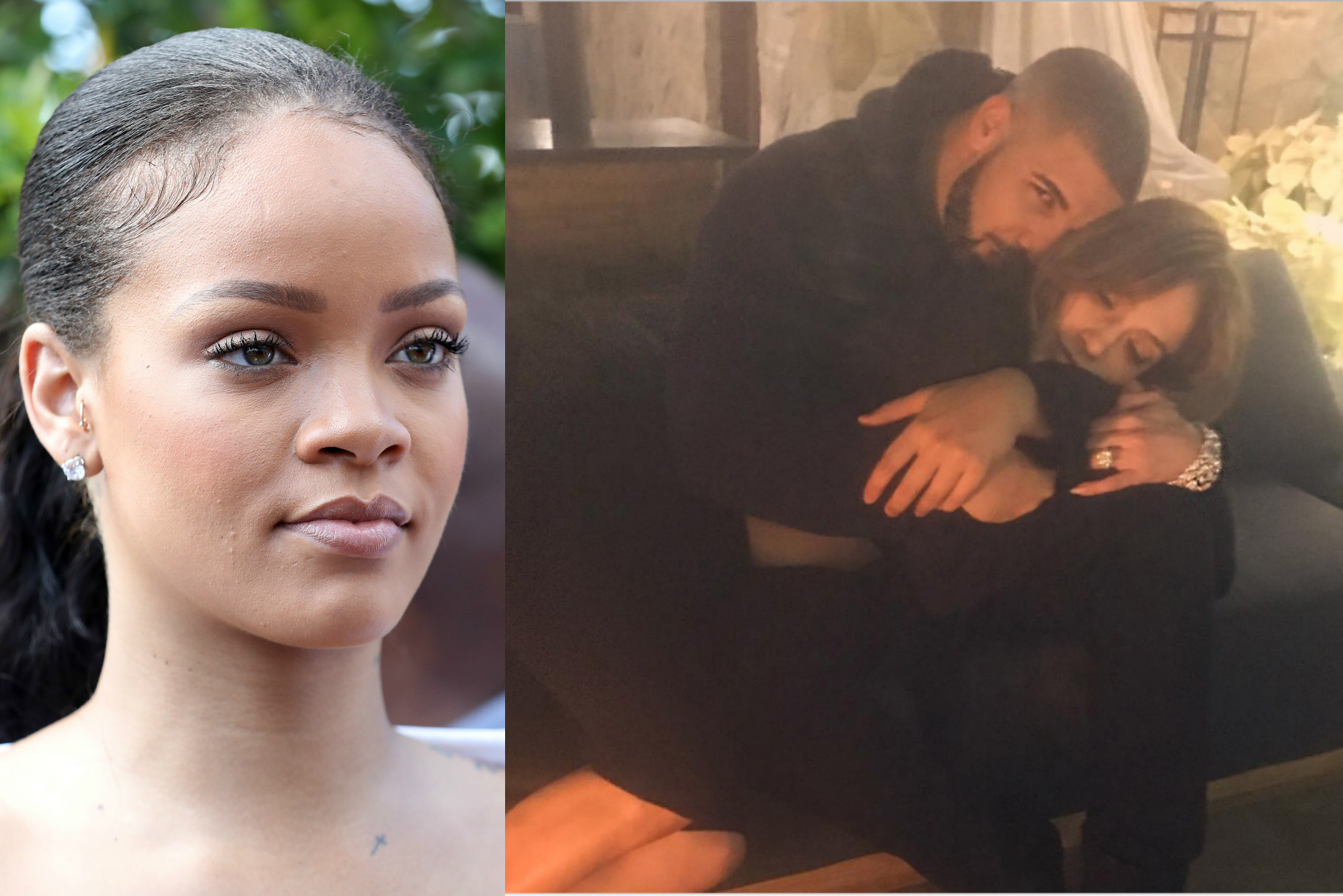 10927d86aa2d3 Rihanna Unfollowed J.Lo Because She s (Probably) Dating Drake