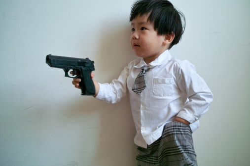 Should Parents Let Their Kids Play With Toy Guns If