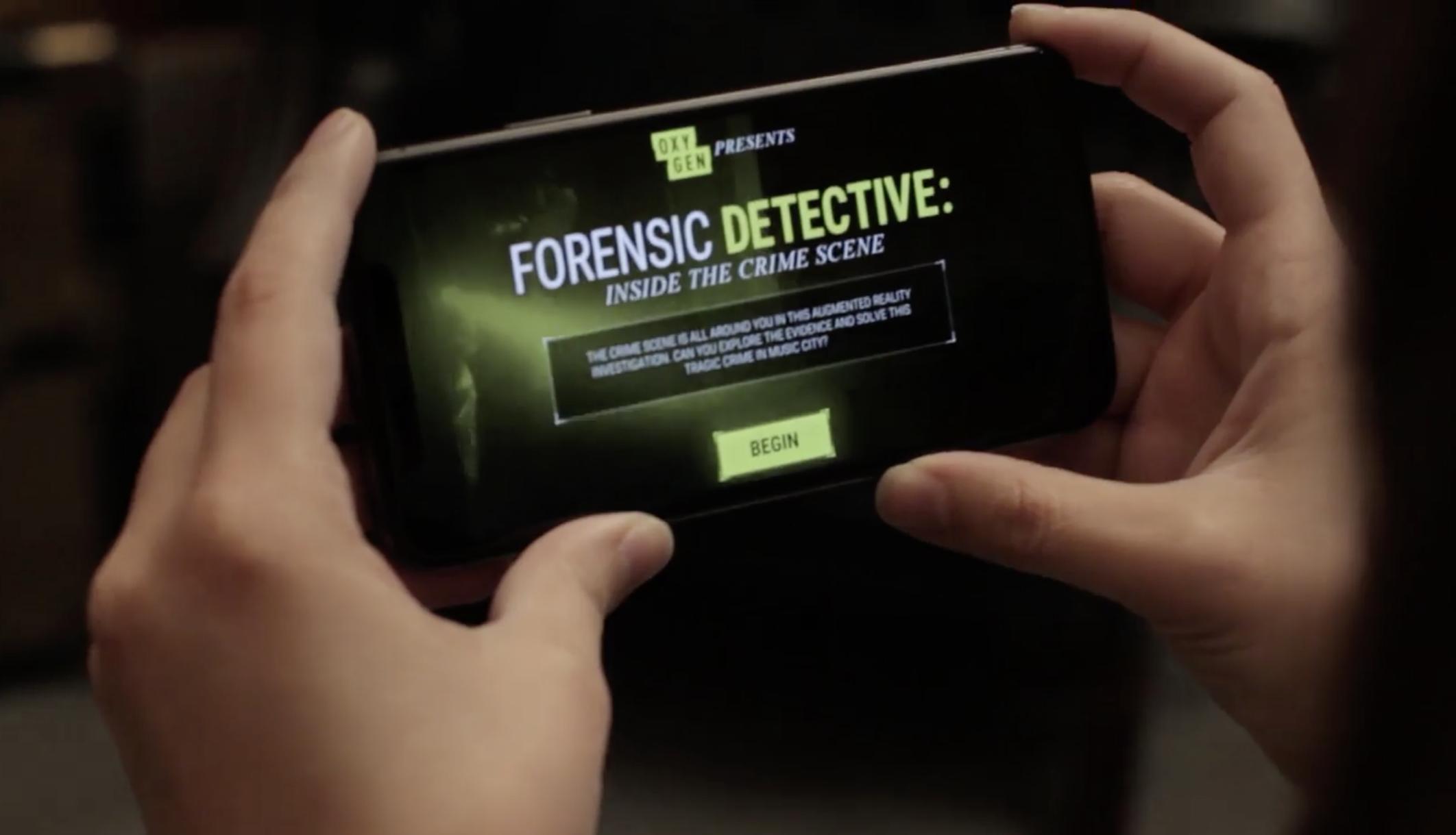 Forensic Detective Oxygen S Ar Crime Scene App Crime News