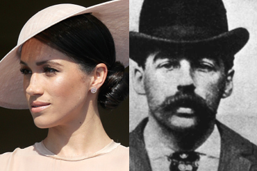 Is Meghan Markle Related To Serial Killer H H Holmes Crime News