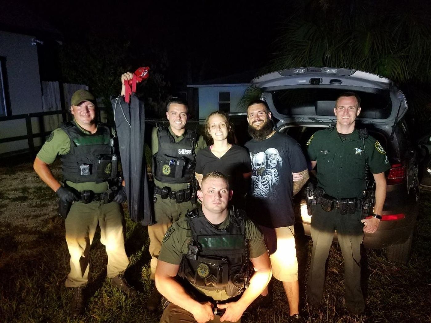 Jesse Pack Plays Hide And Seek With Flagler County Sheriff's
