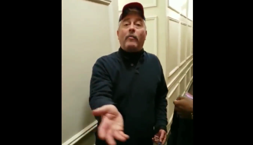 'You Don't Live Here:' White Man Dubbed 'Hallway Harry' Harasses Black Neighbor In Viral Video