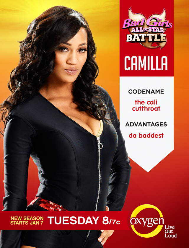 Bad Girls All Star Battle Season 2 Cast Camilla