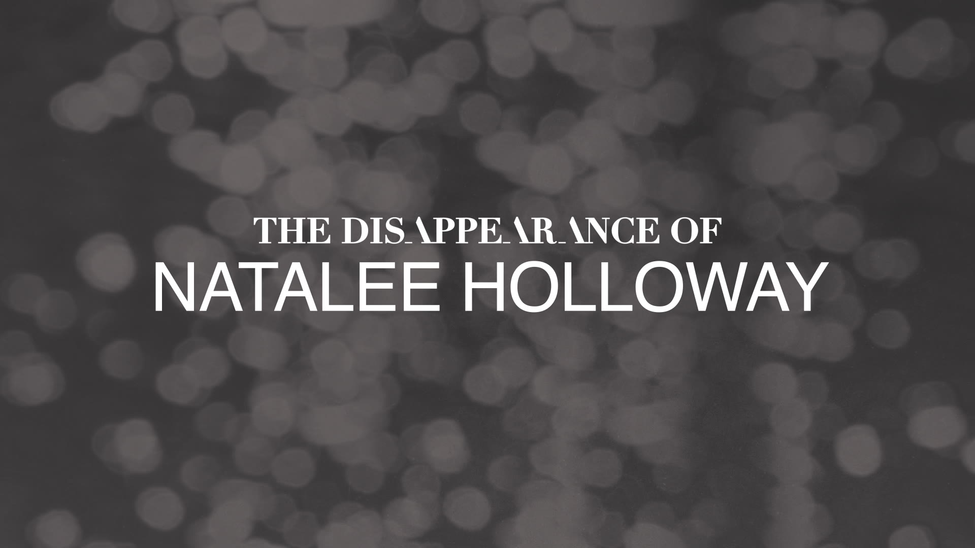 The Disappearance of Natalee Holloway Premieres on August 19th!