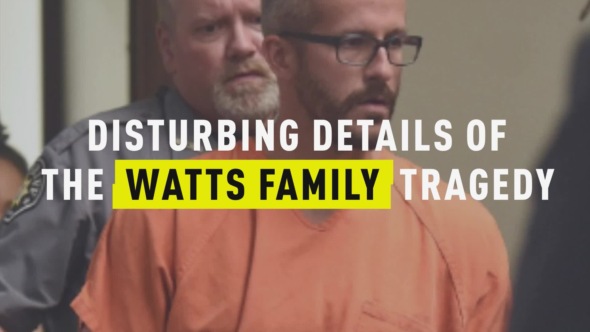 Amber Frey Nude Pictures disturbing details of the watts family tragedy