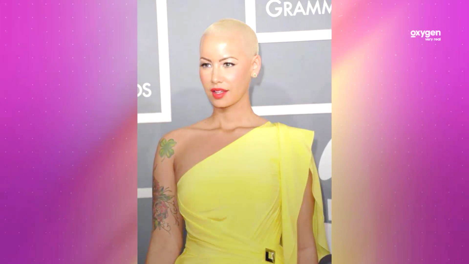 Heres Why Amber Rose Keeps Her Head Shaved Very Real