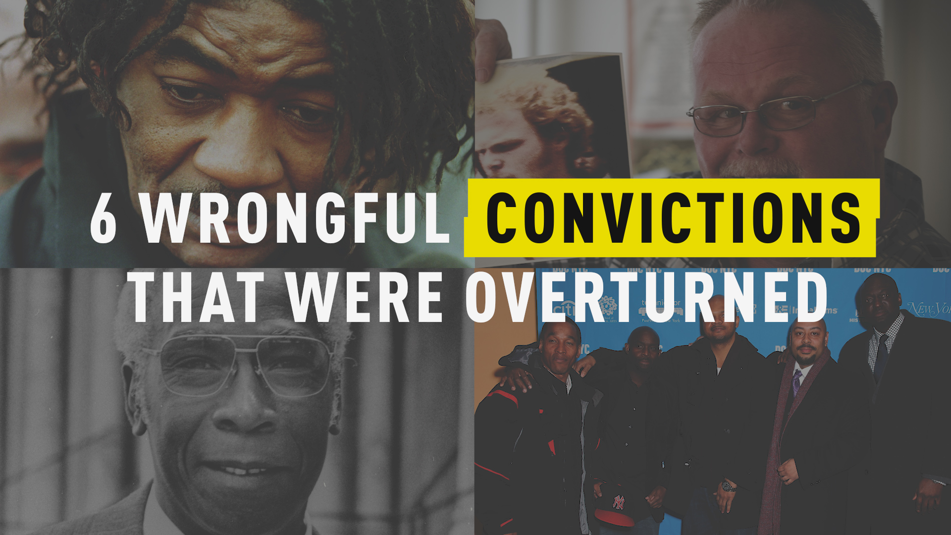 6 Wrongful Convictions That Were Overturned
