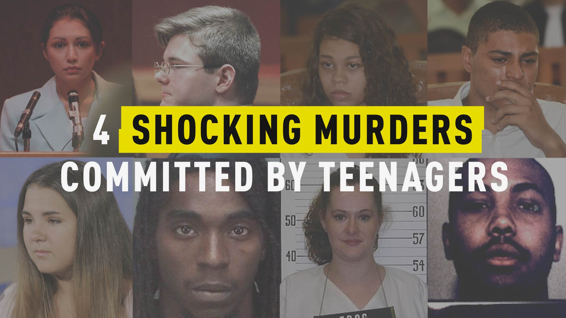 4 Shocking Murders Committed By Teenagers