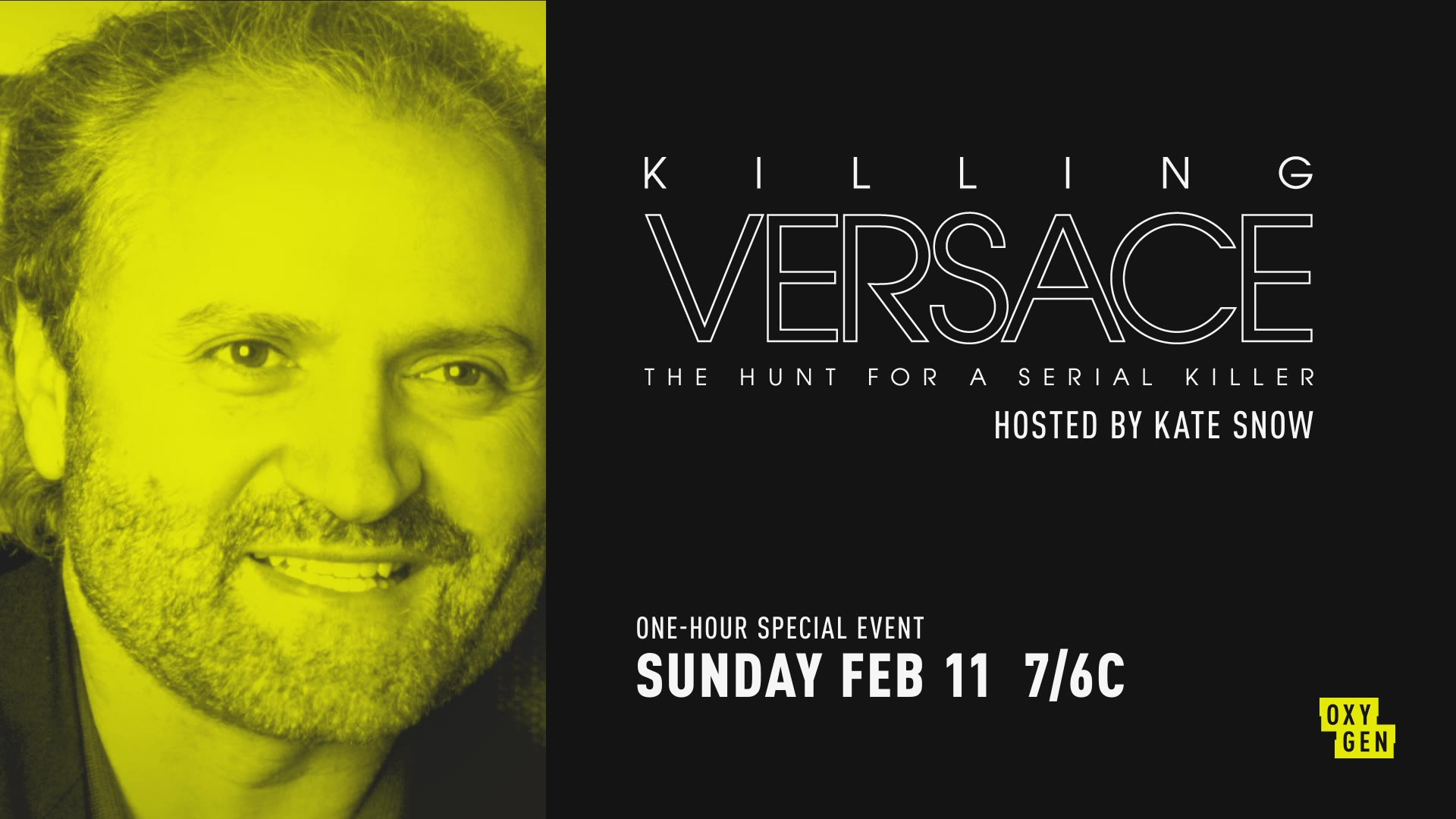 Killing Versace: The Hunt for a Serial Killer Premieres on February 11th!