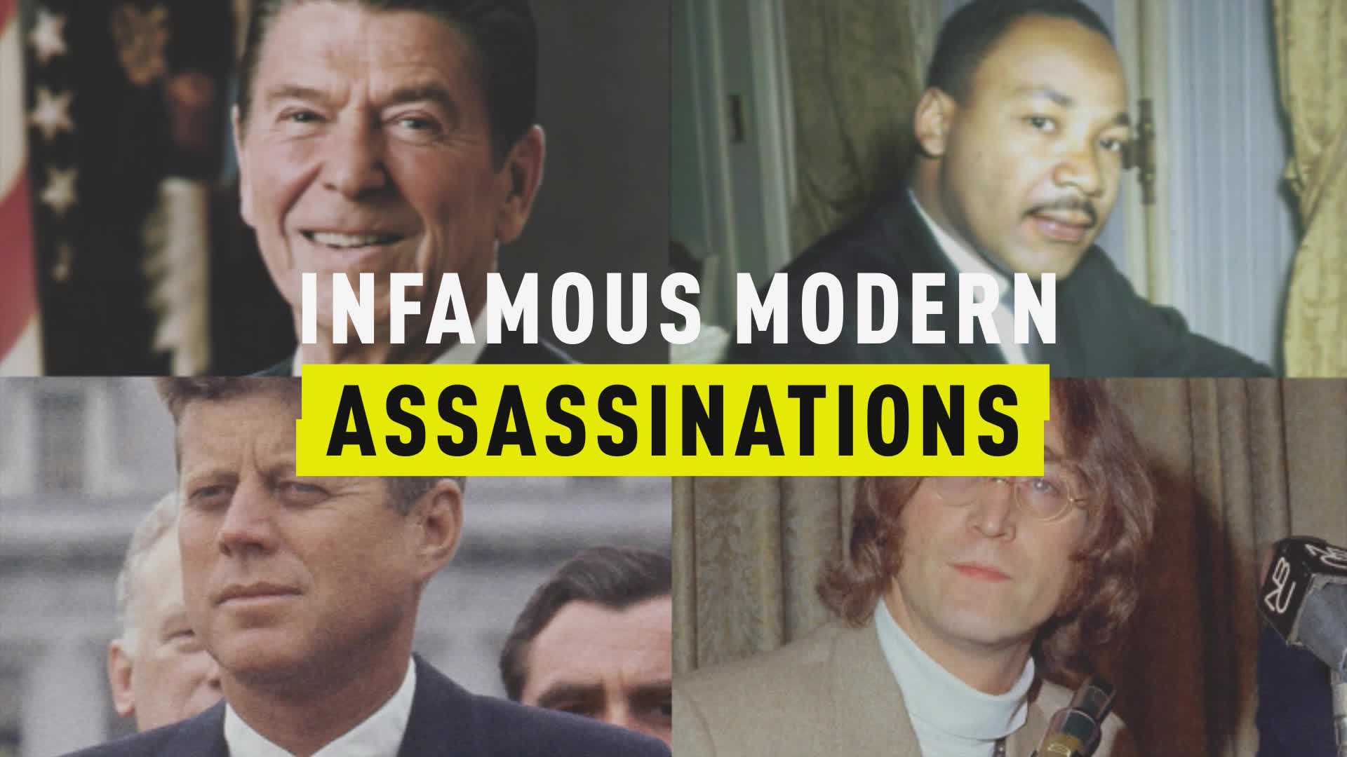 Infamous Modern Assassinations