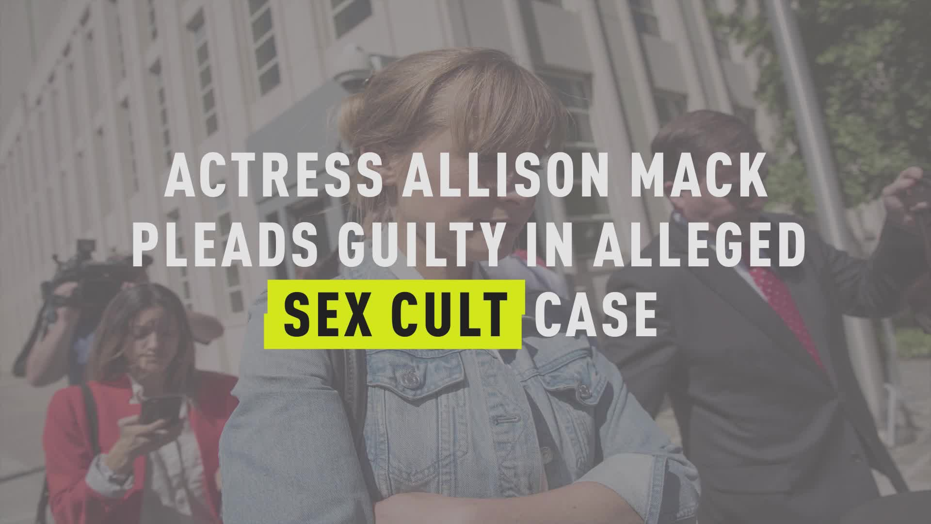 Allison Mack Porn Video actress allison mack pleads guilty in alleged sex cult case