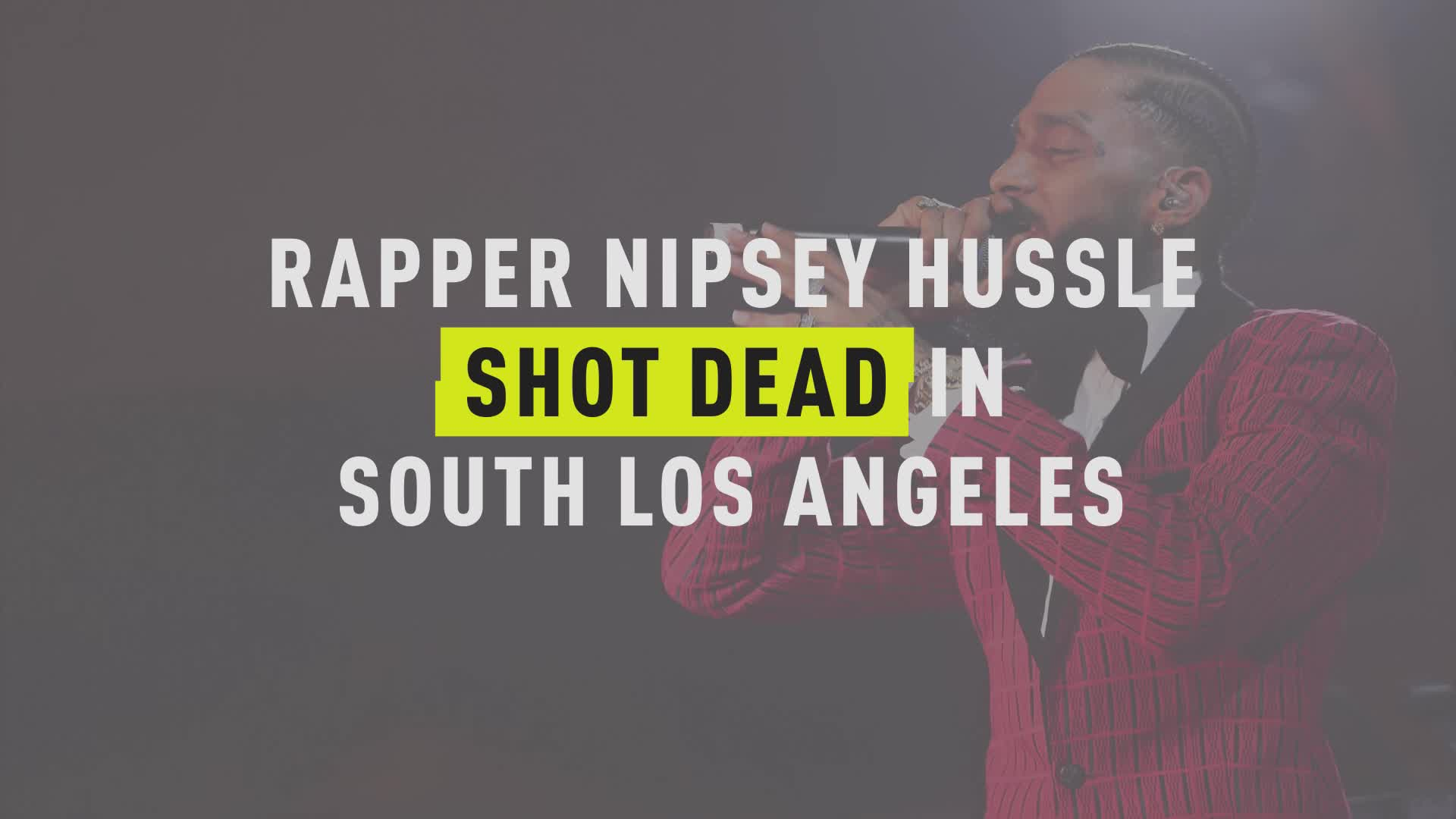 Nipsey Hussle's Brother Remembers His Final Moments After Being Shot