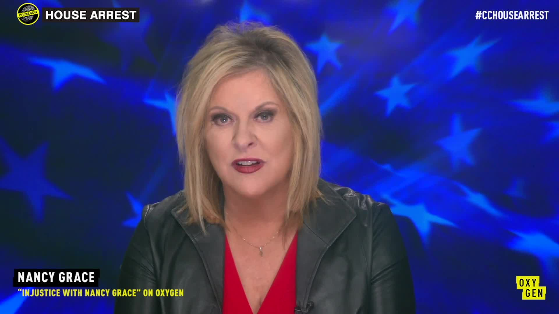 Nancy Grace at CrimeCon 2020 | Oxygen