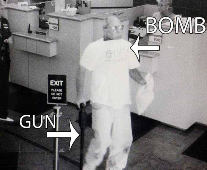 Dec 19, 2017  Erie Federal CourthouseErie Bureau of Police via Wired Security camera footage of Brian Wells walking toward the bank's exit, bomb strapped around his neck,  On August 28, 2003 in Erie, Pennsylvania, Brian Wells' pizza delivery went horribly wrong when it ended with him dying thanks to a bomb