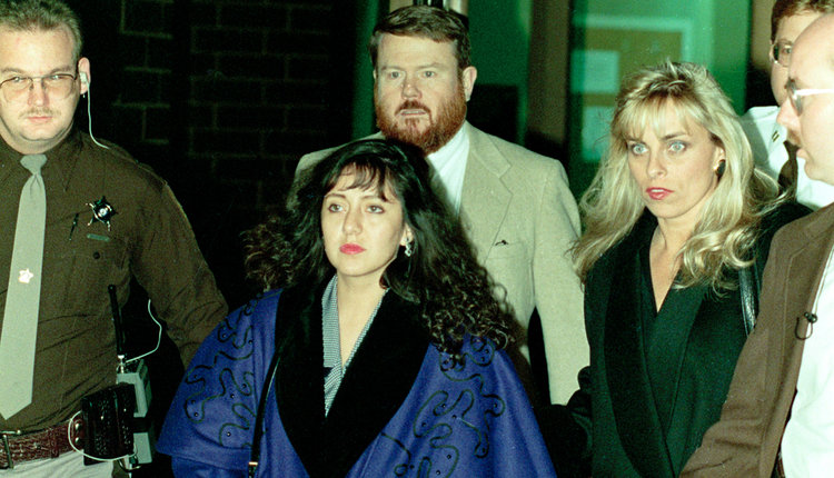Lorena Bobbitt with John Lowe and Janna Bisutti