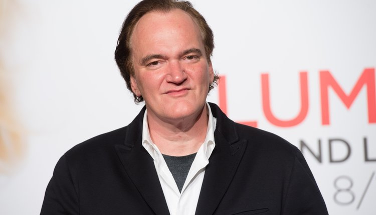 Quentin Tarantino at the Lumiere Film Festival in 2016